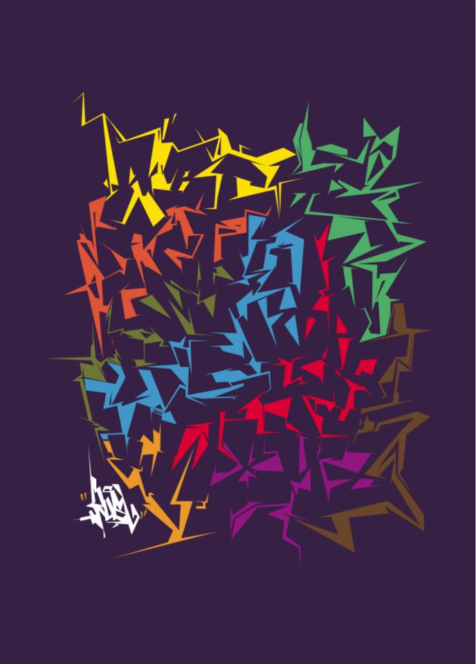 Граффити алфавиты